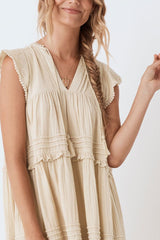 Hanalei Midi dress, Sand