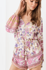 Buttercup Romper, Meadow