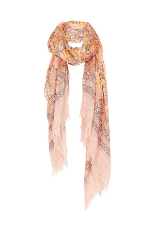 Amethyst Travel Scarf, Blush