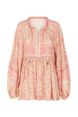 Poinciana Blouse - Cotton Candy