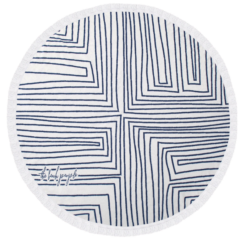 The beach people - Avalon roundie towel
