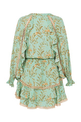Maisie playdress - vintage turquoise