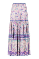 Poinciana Maxi Skirt - Lilac