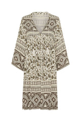 Journey Tunic Dress, Ash