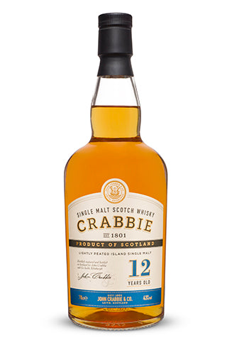 Crabbie 12 Year Old Single Malt Scotch Whisky 0,7l - 43%