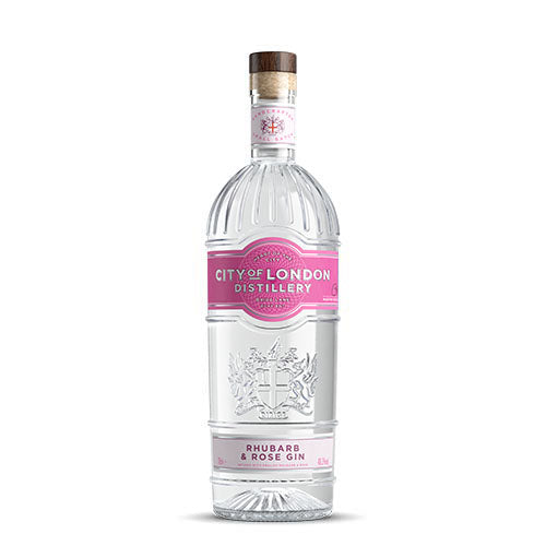 City of London Distillery Rhubarb & Rose Gin 0,7l - 40,3%