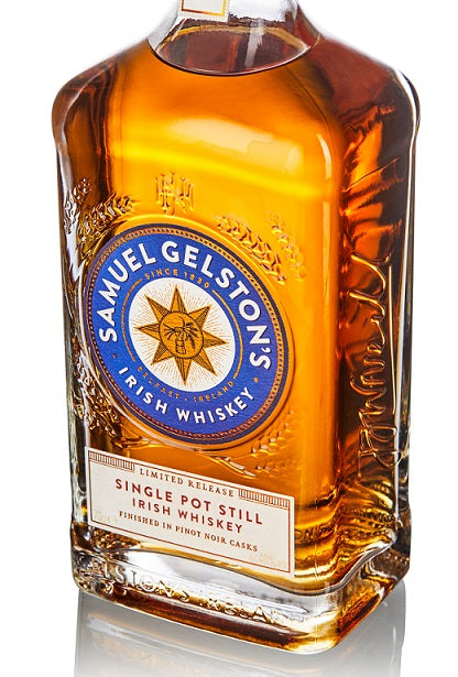 Samuel Gelston's Single Pot Still Irish Whiskey Pinot Noir Finish 40% - 0,7l