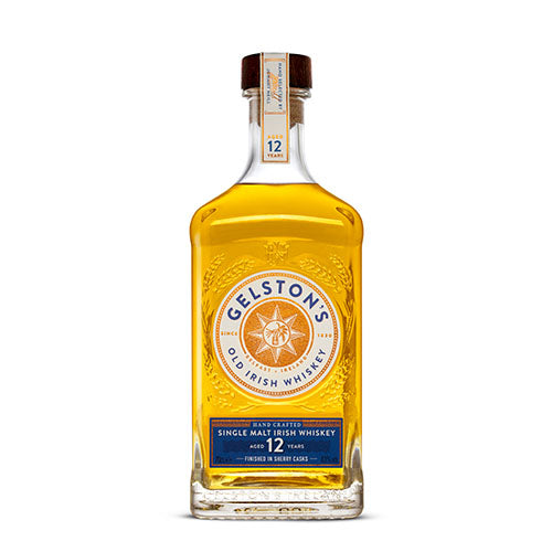 Gelston's 12 year old Sherry Cask Whiskey 43% - 0,7l