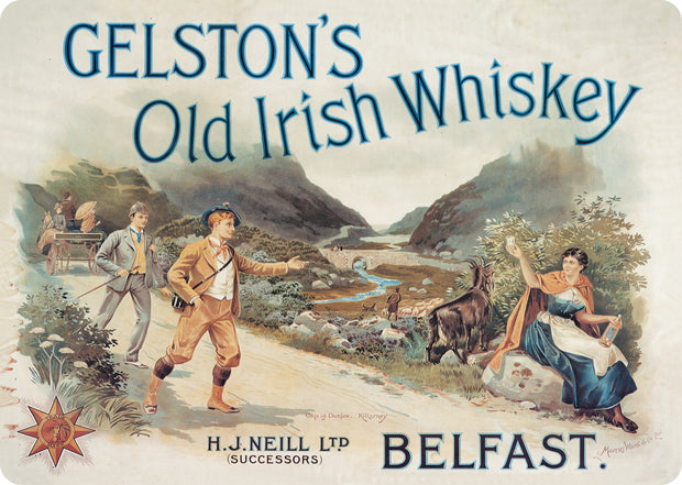 Gelston's Blended Irish Whiskey 0,7l - 40%