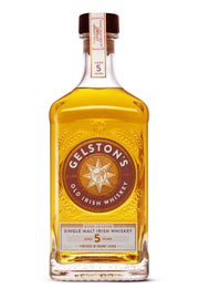 Gelston's Single Malt Irish Whiskey 5 years aged 41,2% - 0,7l