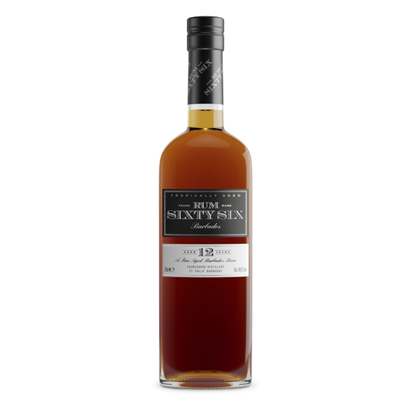 Rum Sixty Six 12 Year old Rum 40% - 0,7l