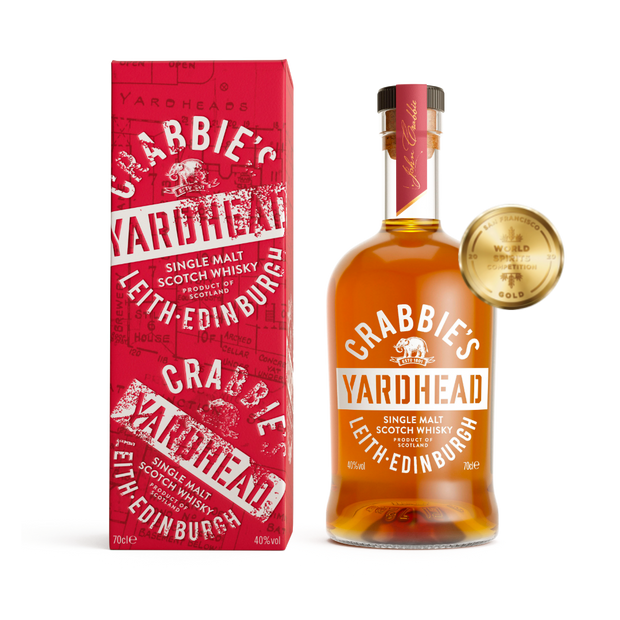 Crabbie's Yardhead Single Malt Scotch Whisky 0,7l - 40%