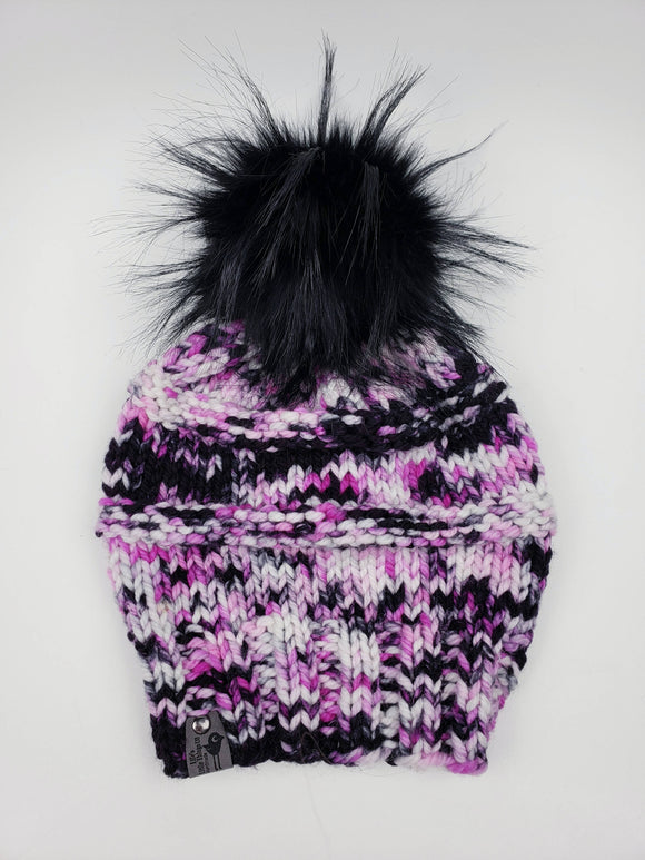 Somerset Beanie - Snap On Pom
