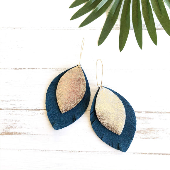 Sarah Suede Statement Earrings (More Colors)