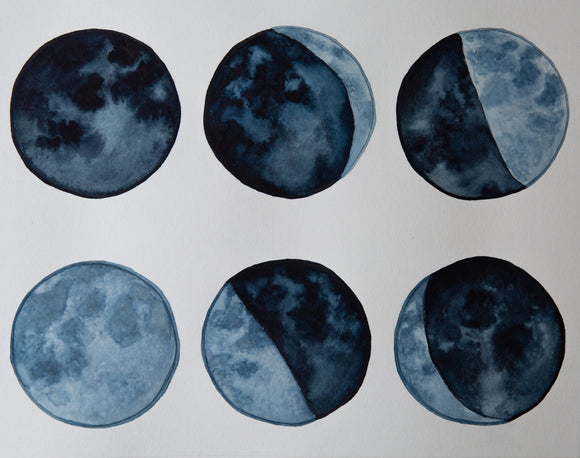 Moon Phases Giclée Print