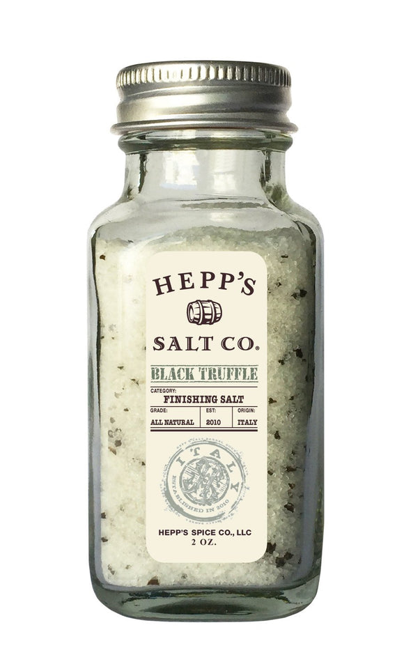 Black Truffle Sea Salt