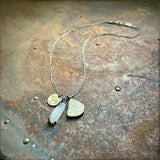 Pyrite & Buffalo Nickel Necklace