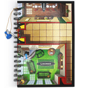 Clue Board Game Creative Spark Journal