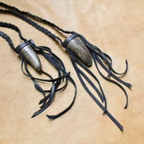 Buffalo Horn Necklace - Black
