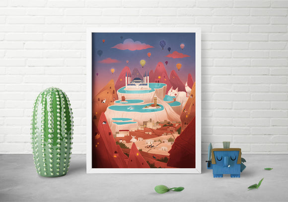 Fairytail Findings Art Print