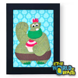 Otis the Cake Troll Framed