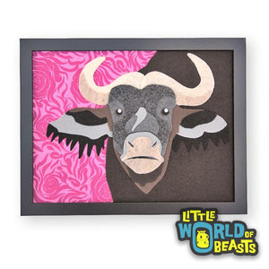 Cape Buffalo Portrait
