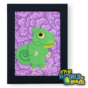 Clover the Chameleon - Frame