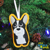 Perry the French Bulldog Ornament