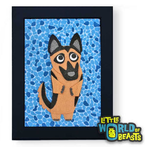 Heinrich the German Shepherd Frame