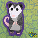 Quigely the Opossum Patch