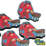 Dragon BBQs - Mundane Monster Wooden Pin