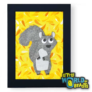 Greta the Squirrel - Frame