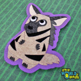 Ichabod the Striped Hyena Patch