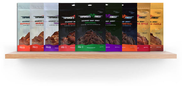 Holiday Sampler Pack of Jerky