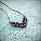 Sacred Woods Chevron Necklace