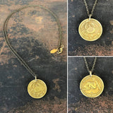 Cancer Sign Necklace - Zodiac Peep Show Token