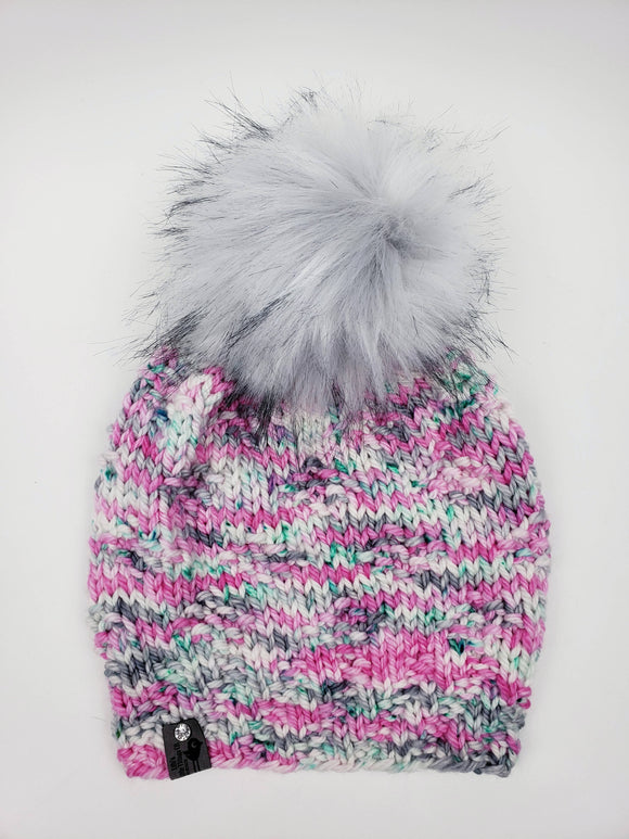 Affinity Beanie - Merino Wool (Snap On Pom)