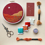 Desert Landscape-DIY Beginner Embroidery Kit