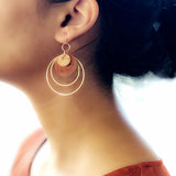 Encircle Earrings- Cinnamon