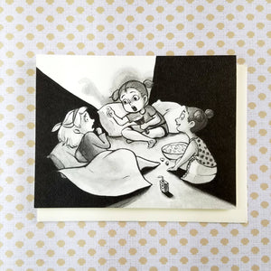 Scary Stories Greeting Card
