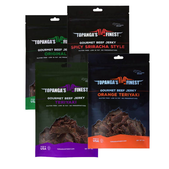 Beef Lovers Jerky Sampler