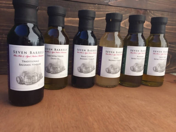 6 Bottles of EVO Olive Oil or Balsamic Vinegar (6 oz.) with Discount