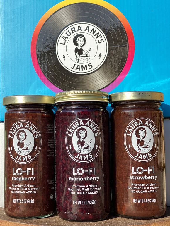 LO-FI (No added Sugar) JAM 3pack