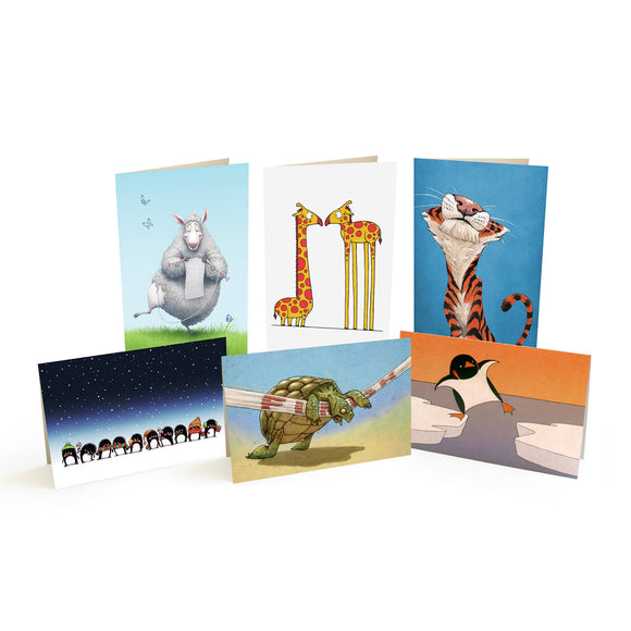The Daily Zoo Notecards Variety Pack
