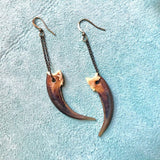 Badger Claw Earrings