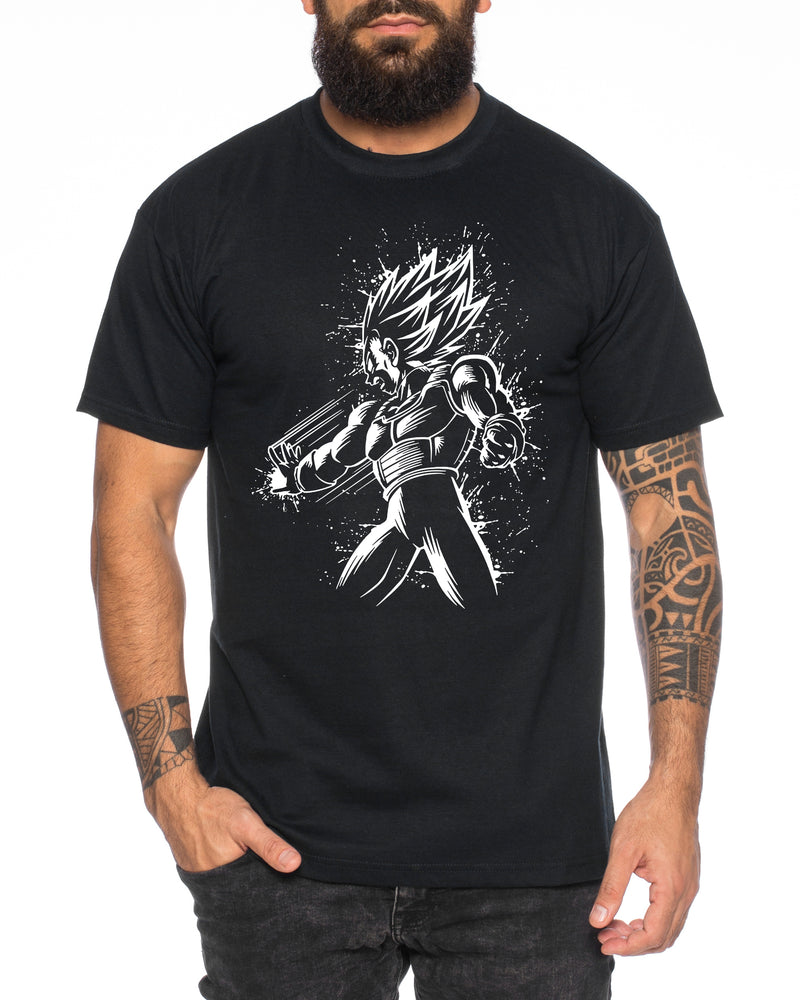 Vega Bruch Herren T-Shirt One Goku Dragon Master Son Ball Vegeta Turtle Roshi Piece Golds Db