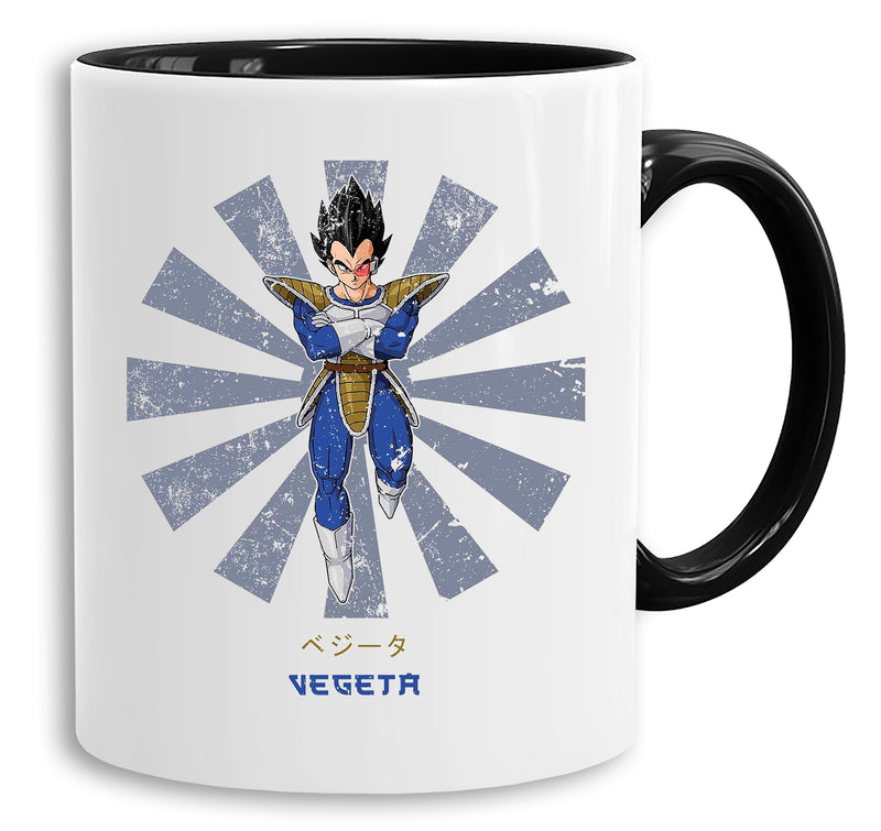 Vegeta Star - Tasse Kaffeetasse Son Ruffy Luffy Naruto Saitama One Dragon Master Goku Ball Vegeta Roshi Piece Db