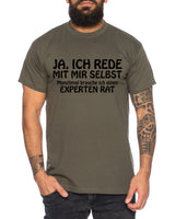 Experten Rat Herren T-Shirt Cooles lustiges Fun-Shirt