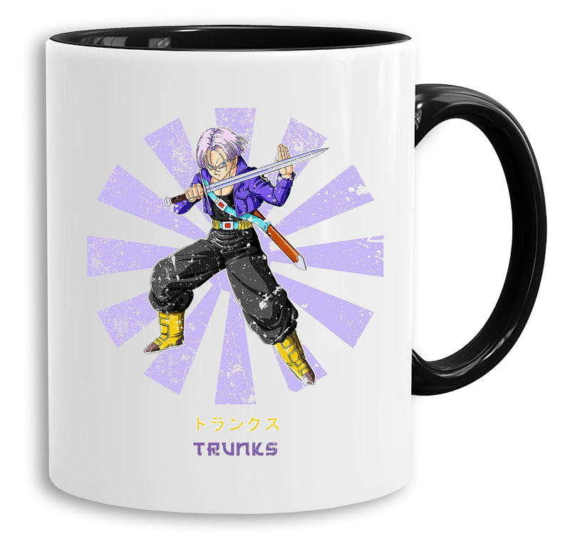 Trunks Star - Tasse Kaffeetasse Son Ruffy Luffy Naruto Saitama One Dragon Master Goku Ball Vegeta Roshi Piece Db