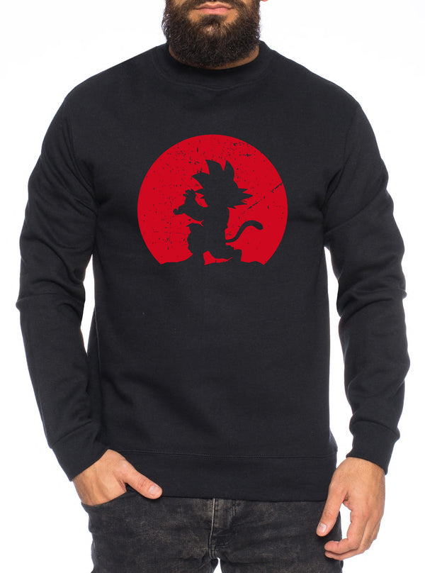 Kame Moon Herren Sweatshirt Son Dragon Master Ball Vegeta Turtle Roshi Db